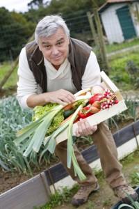 65plusser aan de slag met groenten