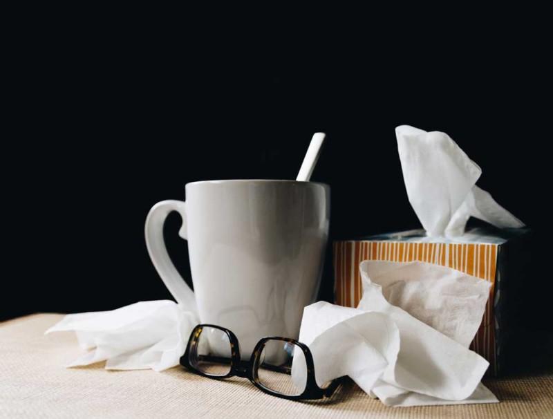 ziekte / griep voorkomen